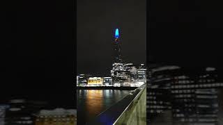 더 샤드 야경 런던 영국