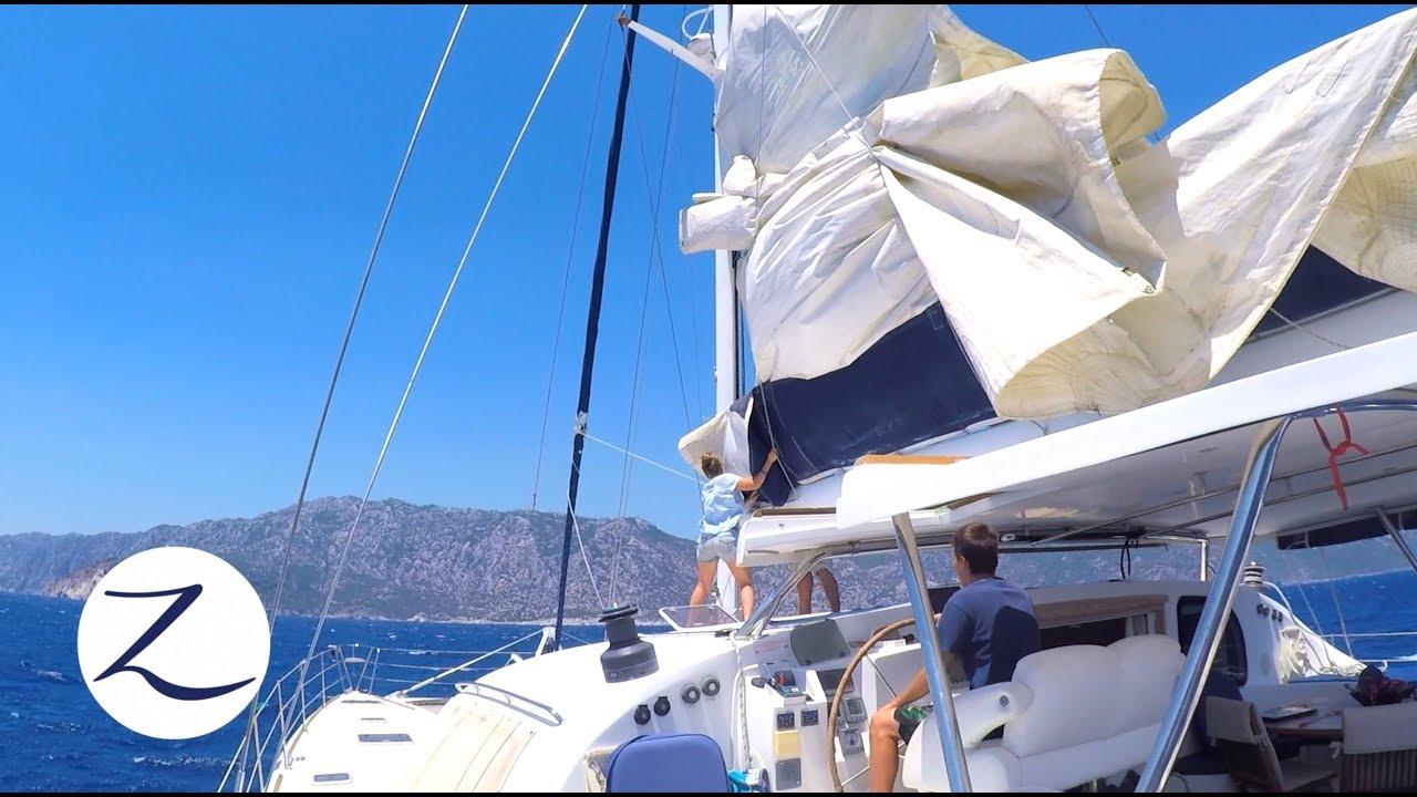 our-first-solo-sail-catamaran-sailing-greece-to-turkey-sailing-zatara-ep-51
