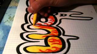 """Graffiti """"Lucas"""""""