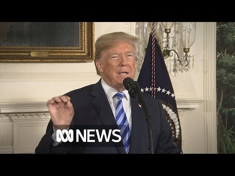 Trump announces withdrawal from Iran nuclear deal