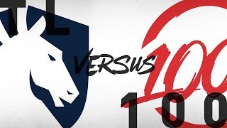 TL vs. 100 - Week 1 Day 1 | NA LCS Summer Split | Team Liquid vs. 100 Thieves (2018)