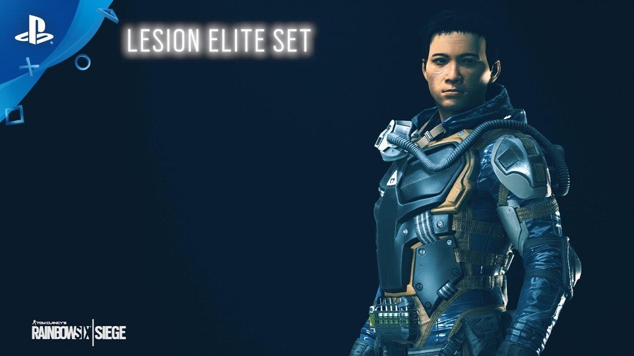 Rainbow Six Siege - Lesion Elite Set : New on the Six | PS4