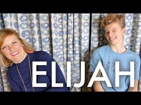 A CONVERSATION WITH ELIJAH : Traveling Family of 11