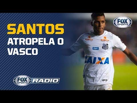 """""""7 A 0 TERIA SIDO NORMAL"""": Benja sobre vitória do Santos sobre o Vasco"""