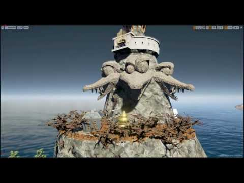 Flying Around DKC2 Crocodile Isle WIP