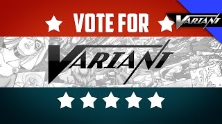 Vote Variant As Best Comic Book Channel!