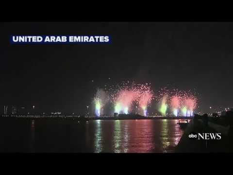 United Arab Emirates Celebrates the Start of 2017