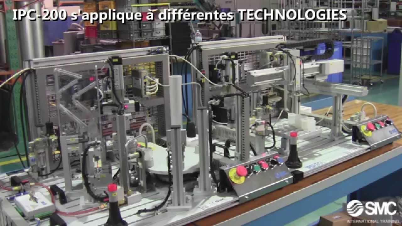 Système de formation IPC-200 – Contrôle de processus