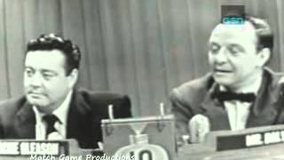 What's My Line (1953) (Bennett Cerf Becomes Full-Time) (Jackie Gleason MG)