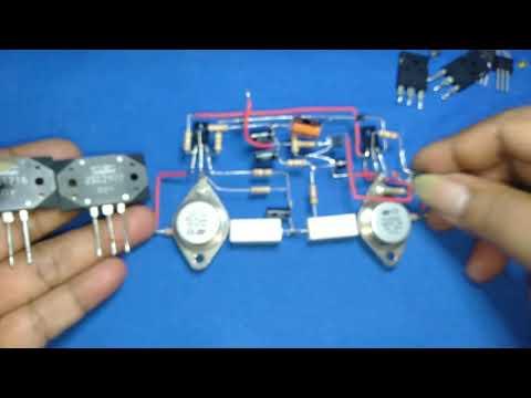 Xperimen Mengganti Transistor Final