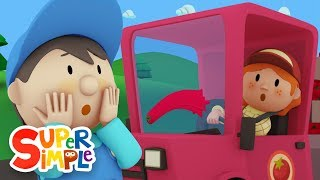 Betty's Tomato Truck goes through the car wash | Cartoon for kids thumbnail