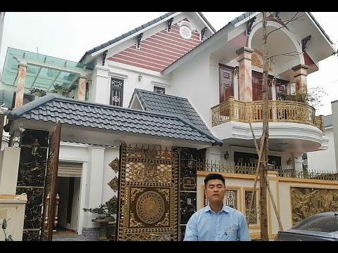 Siêu Phẩm Biệt Thự 2 Tầng Đẹp Do KISATO Thiết Kế Cho Nhà Bác Quý Tại Trần Hưng Đạo Hòa Bình