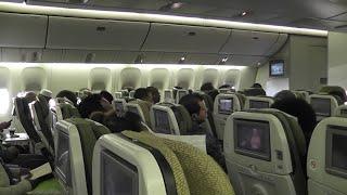 Ethiopian inflight experience on board 777-200LR