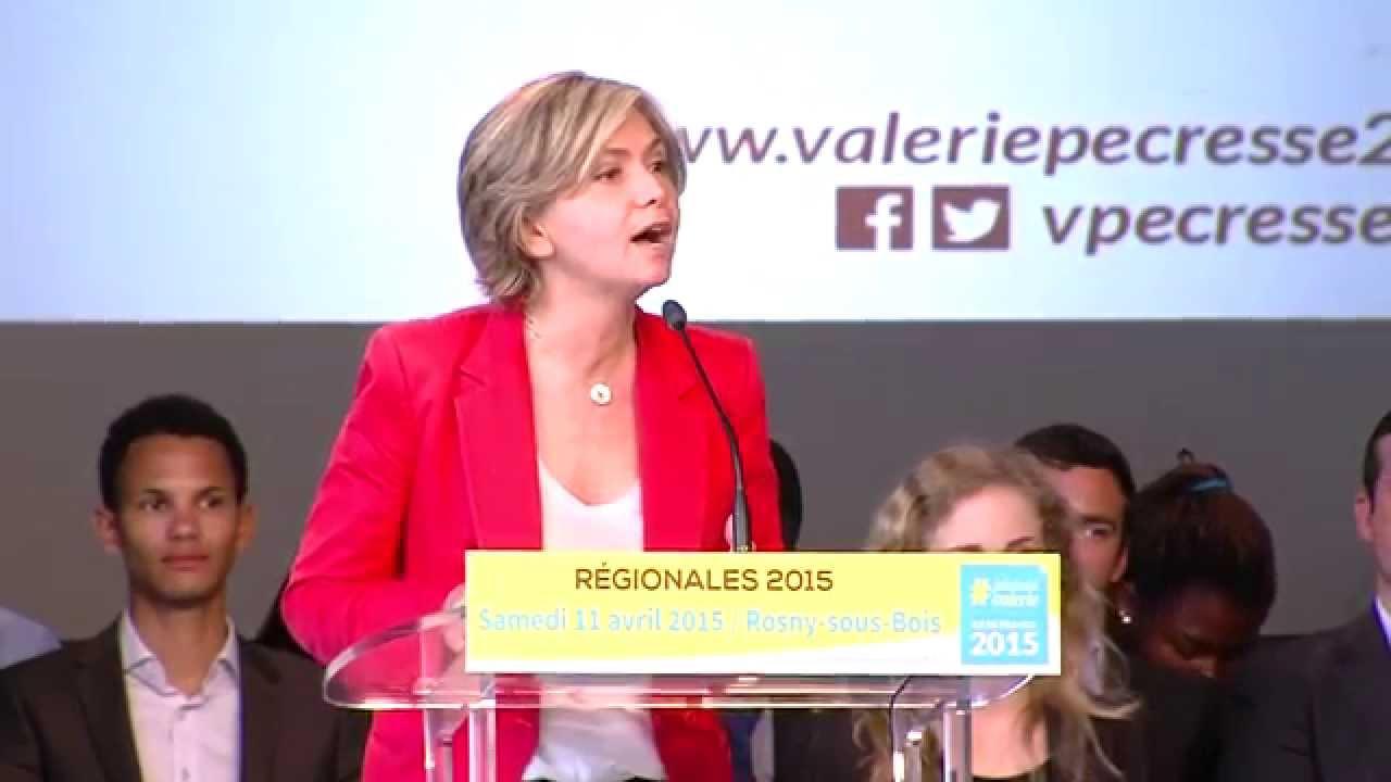 Régionales : Valérie Pécresse se lance dans la campagne