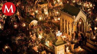 Celebración del Día de Muertos en San Andrés Mixquic