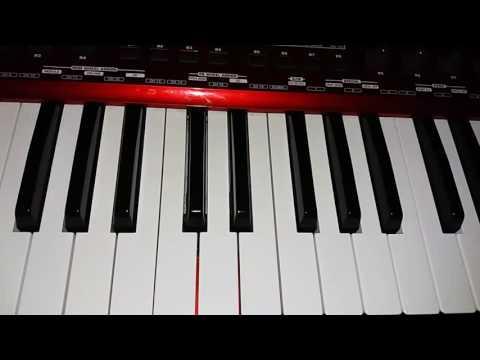 Vidinha de balada - Henrique e Juliano. Como tocar no teclado