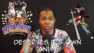 Video Why The God of Highschool Deserves It's own Anime download MP3, 3GP, MP4, WEBM, AVI, FLV Maret 2018