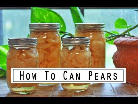 Canning Pears Made Simple! (Bonus: Easiest Way To Peel Pears)