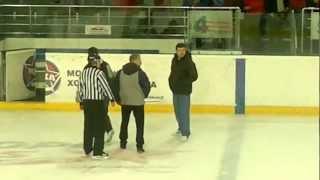 хоккейная драка алмаз оренбуржье