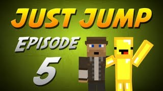 Minecraft: Just Jump w/ Endersteve - Episode 5 - LADDER MADNESS REVISITED!