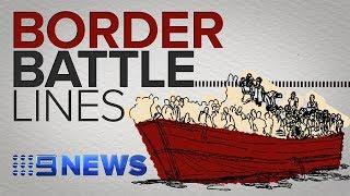 Australian border security: The political battle lines explained | Nine News Australia