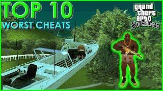 GTA San Andreas - Top 10 Worst Cheats
