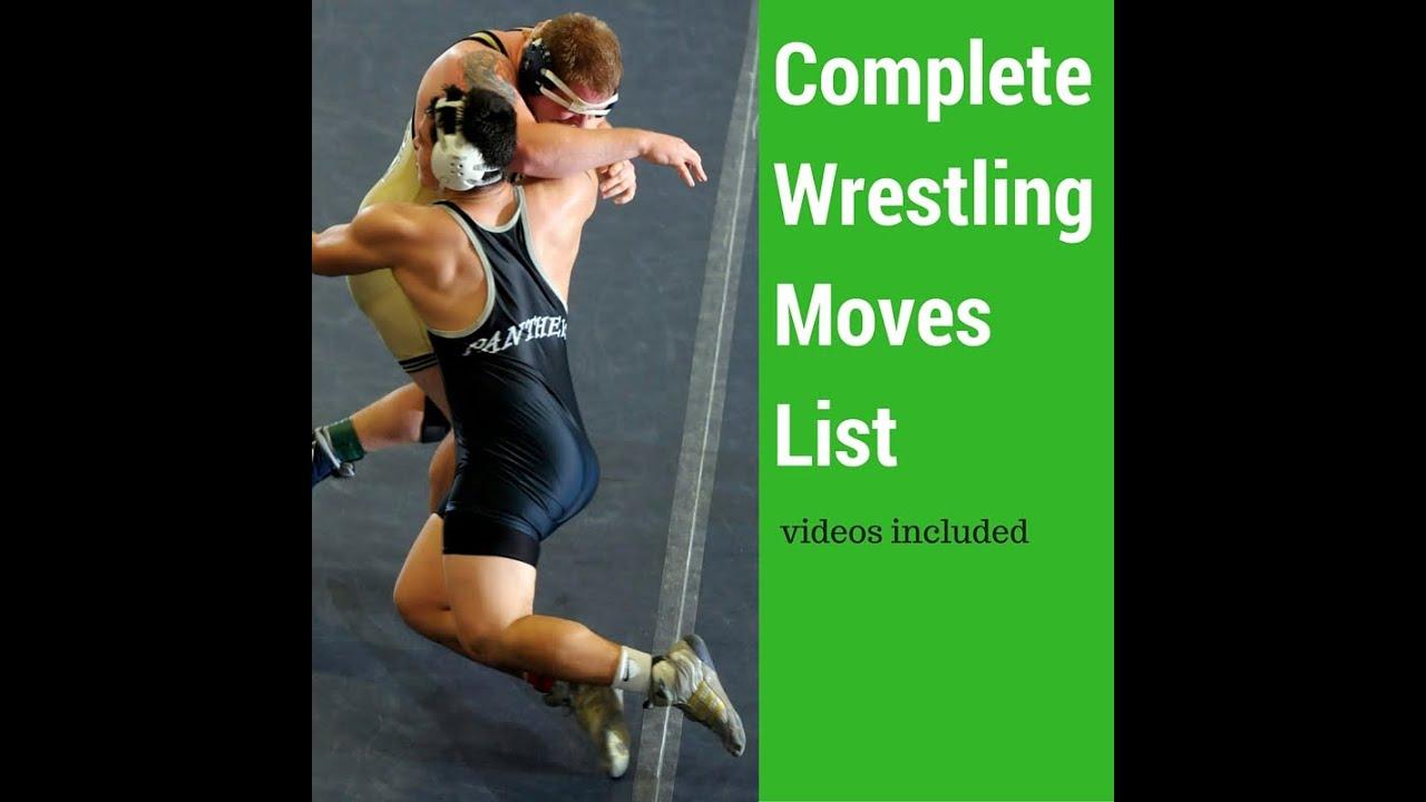 wrestling moves list
