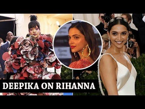 Deepika Padukone BEST REPLY To Rihanna's Insta Post On Deepika's Dress thumbnail
