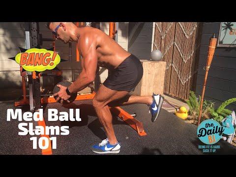 ��How To Do Med Ball Slams & 12 Best Slam Variations | BJ Gaddour Workout Exercises Men's Health