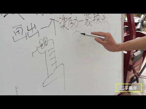 【二平青年】老闆擺用數字作畫遊戲,沒想遇到美女高手,一口氣畫出10個數字