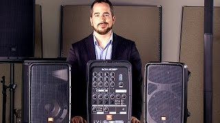 JBL EON 208P Portable PA System
