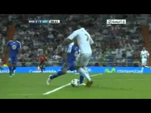 ريال مدريد 4 - 2 خيتافي الدوري الاسباني 2011/2012