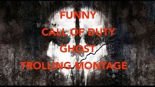 CALL OF DUTY GHOST: TROLLING DEM NOOBS PART 1