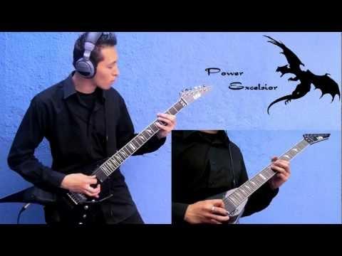 Naruto - Rising Fighting Spirit - guitar cover {TABS}