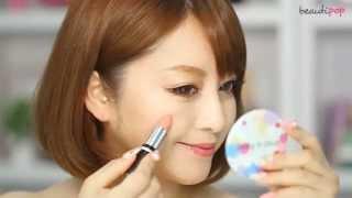 beautipop app - 캔디돌 립스틱을 사용하여 치크 표현하기! (Candydoll lipstic)