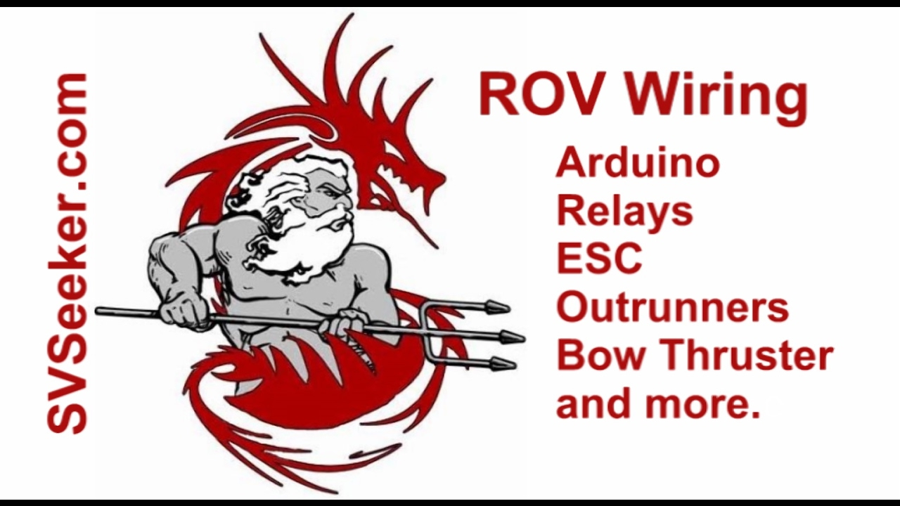 rov wiring arduino relays esc outrunners bow thruster and more