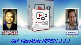 Video Mate Sales Video Preview - get *BEST* Bonus and Review HERE!