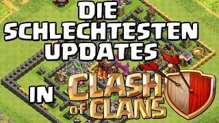 Die schlechtesten Updates...in Clash of Clans [Deutsch/German HD+]