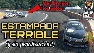 Gran Turismo Sport - ¡ MENUDA ESTAMPADA ! ( y sin penalización ) - Modo Sport Carrera B
