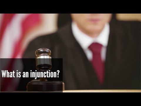 What is an injunction? Mp3