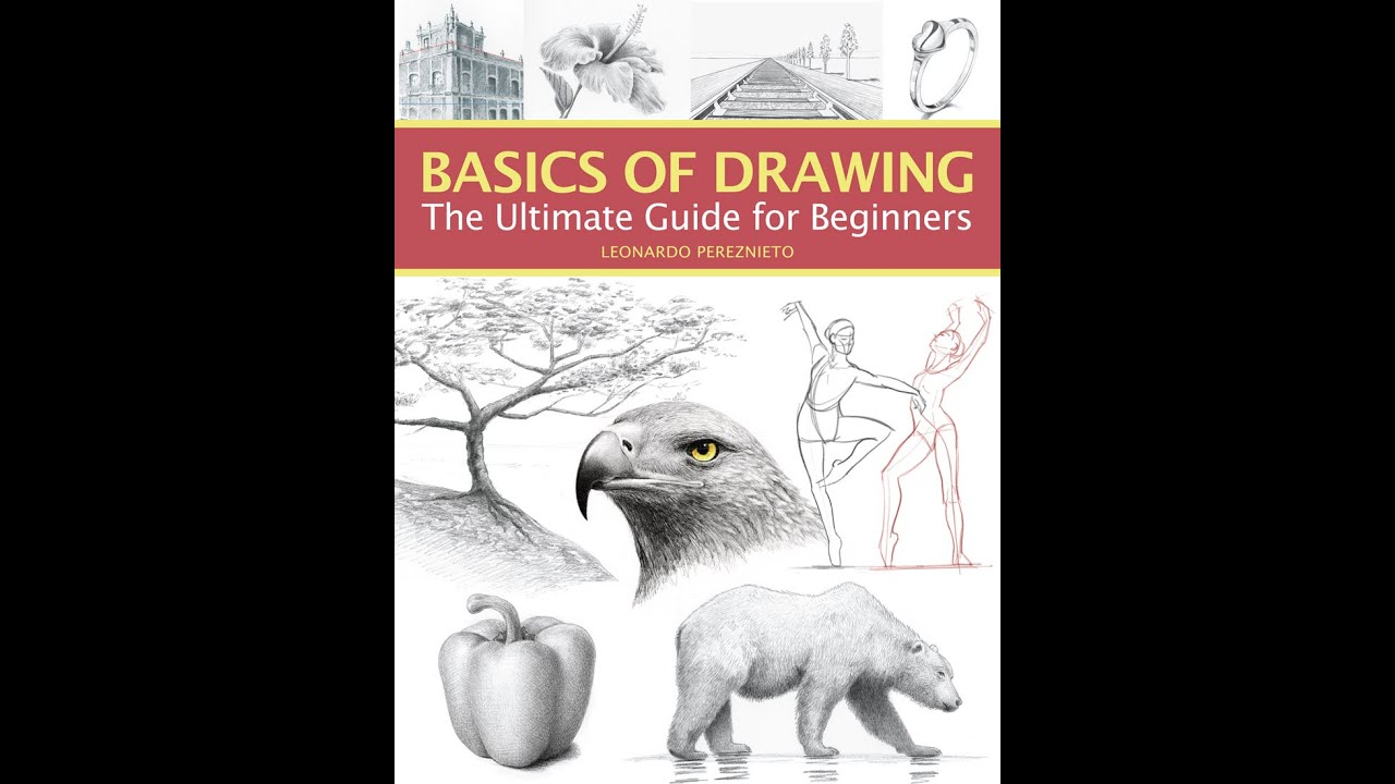 THE BASICS OF DRAWING - THE ULTIMATE GUIDE FOR BEGINNERS - Book Trailer