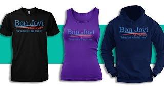 Bon Jovi For President T-Shirt