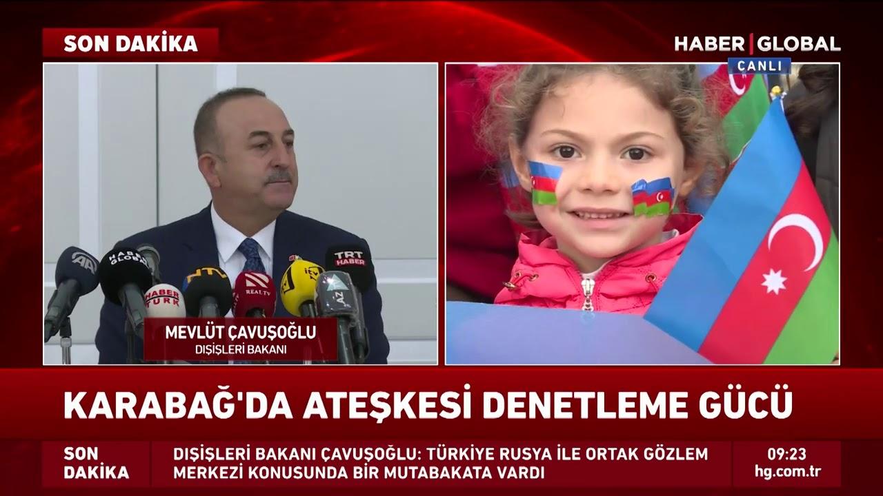 Çavuşoğlu, Azerbaycan'dan duyurdu: Ermenistan Ateşkesi Yine Bozarsa Bedelini Öder