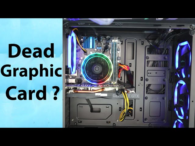 Troubleshooting a Gaming PC Graphic card with Random Shutdown