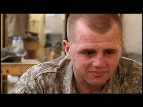 American soldier breaks down - HEARTBREAKING