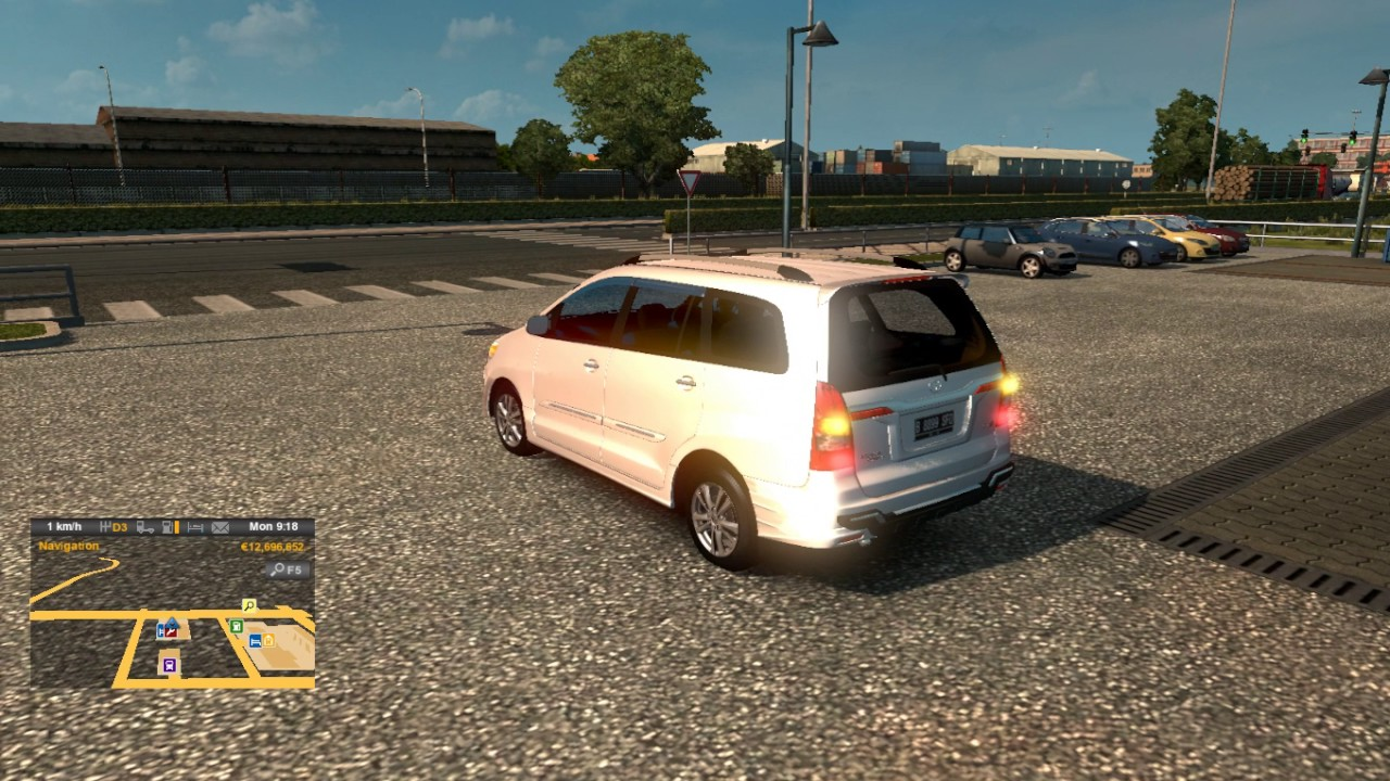 mod all new kijang innova ets2 mobil grand avanza 2018 old euro truck simulator 2 first view youtube