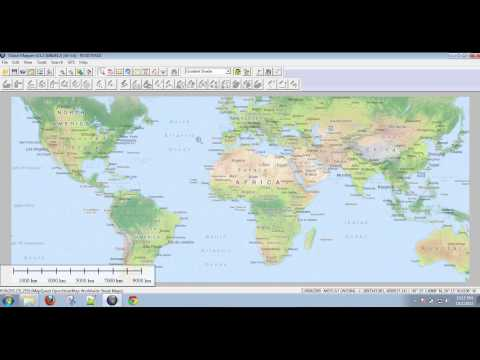 Global Mapper 1: Introduction and Importing Free Online Data