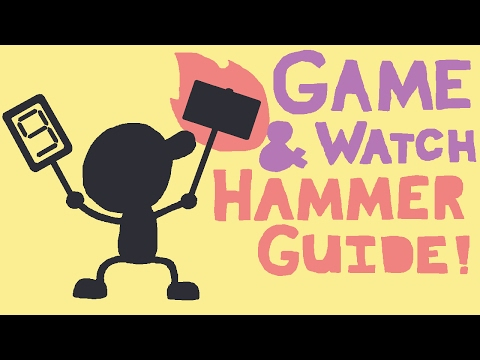 Game & Watch Judge Hammer Tutorial and Combos!
