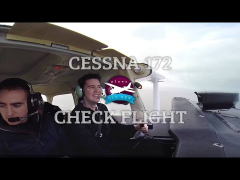 C172 Check Flight - Steep Turns, PFLs & Circuits! | ATC Audio