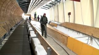 В центре «Санки» намораживают олимпийский лед  (Сочи, Олимпстрой)